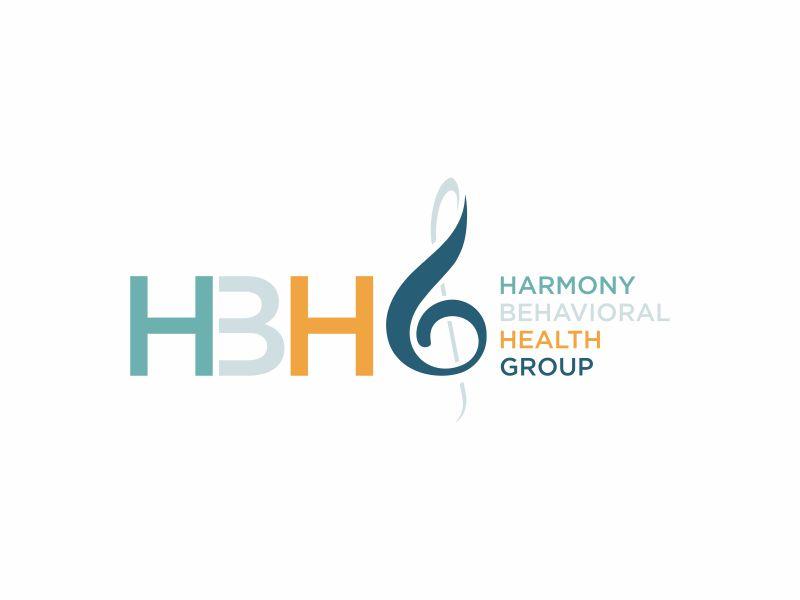 Harmony Behavioral Health Group logo design by ora_creative