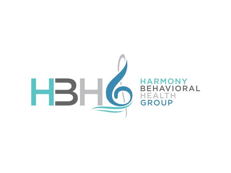 Harmony Behavioral Health Group logo design by johana