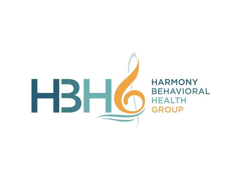 Harmony Behavioral Health Group logo design by alby