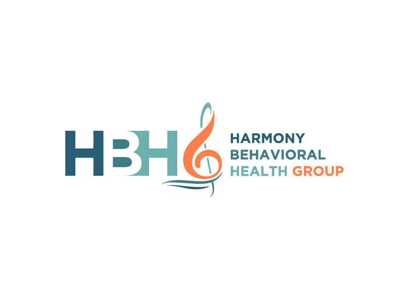 Harmony Behavioral Health Group logo design by bigboss