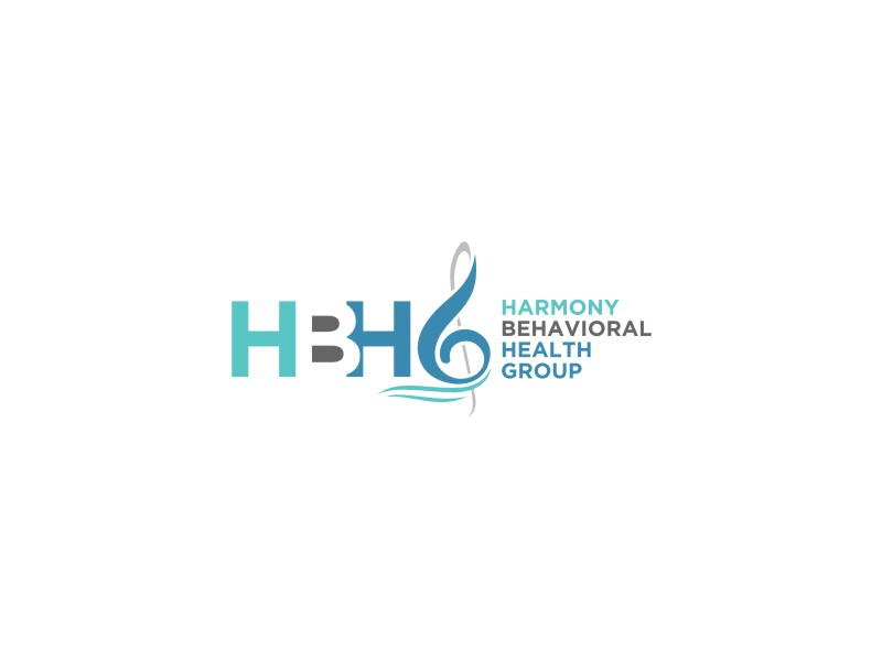 Harmony Behavioral Health Group logo design by hopee
