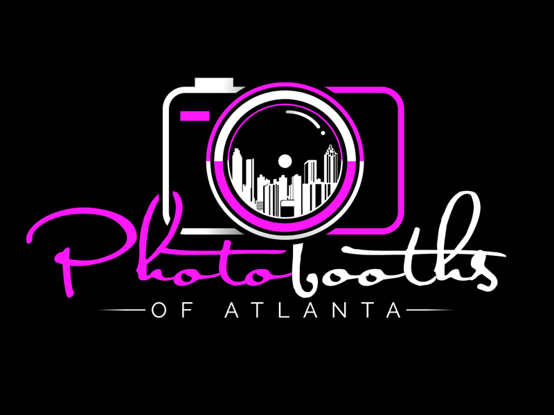 Photobooths Of Atlanta logo design by DreamLogoDesign