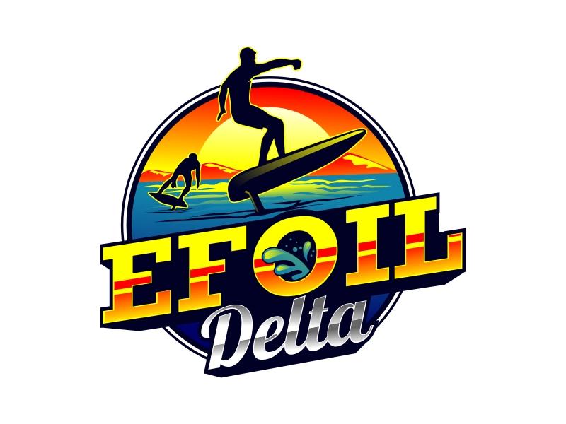 Efoil Delta logo design by rgb1