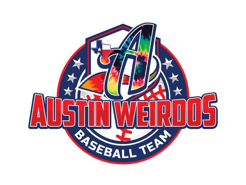 Austin Weirdos Baseball Team logo design by Godvibes