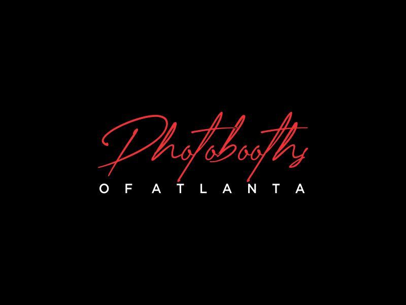 Photobooths Of Atlanta logo design by oke2angconcept
