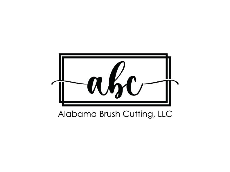 Alabama Brush Cutting, LLC logo design by menanagan