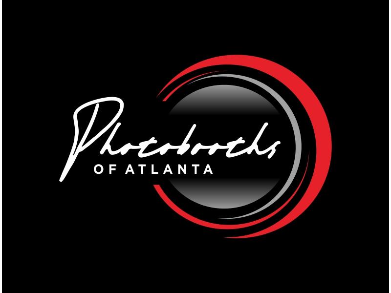 Photobooths Of Atlanta logo design by Greenlight