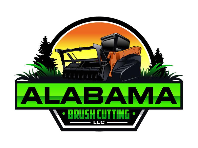 Alabama Brush Cutting, LLC logo design by MonkDesign