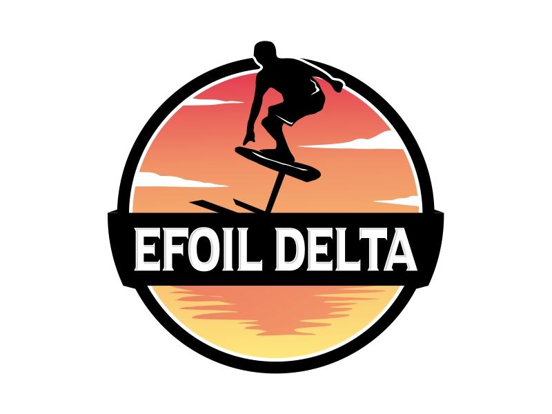 Efoil Delta logo design by Alfatih05