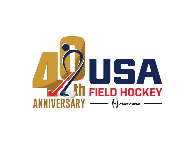 40th Edition 2021 National Hockey Festival logo design by crearts