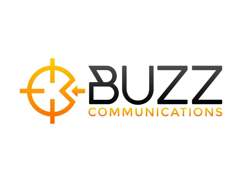 Buzz Communications logo design by FriZign