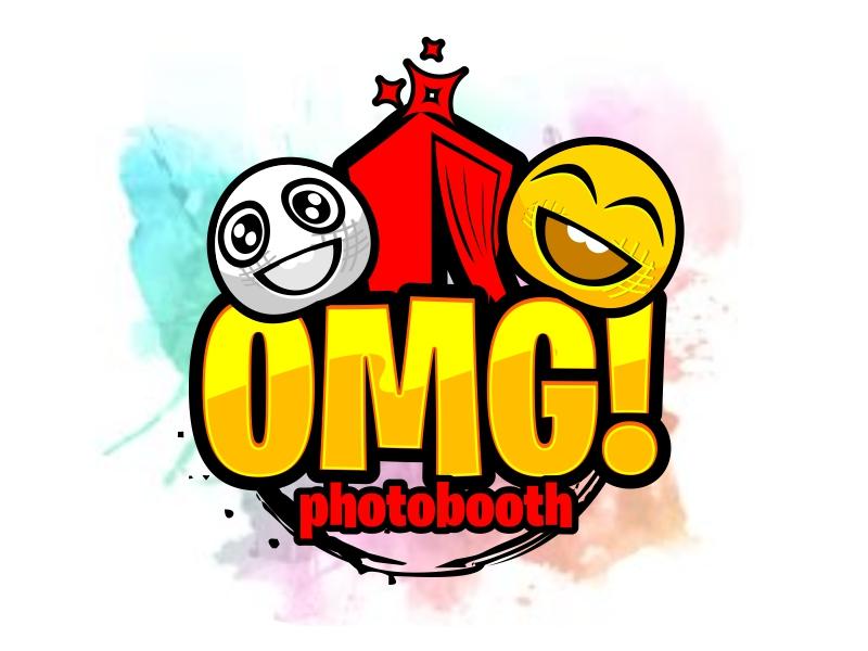 OMG! A Photobooth optional; .com logo design by serprimero