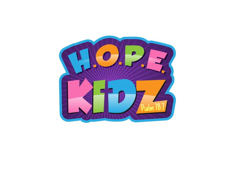 H.O.P.E. Kidz logo design by reight