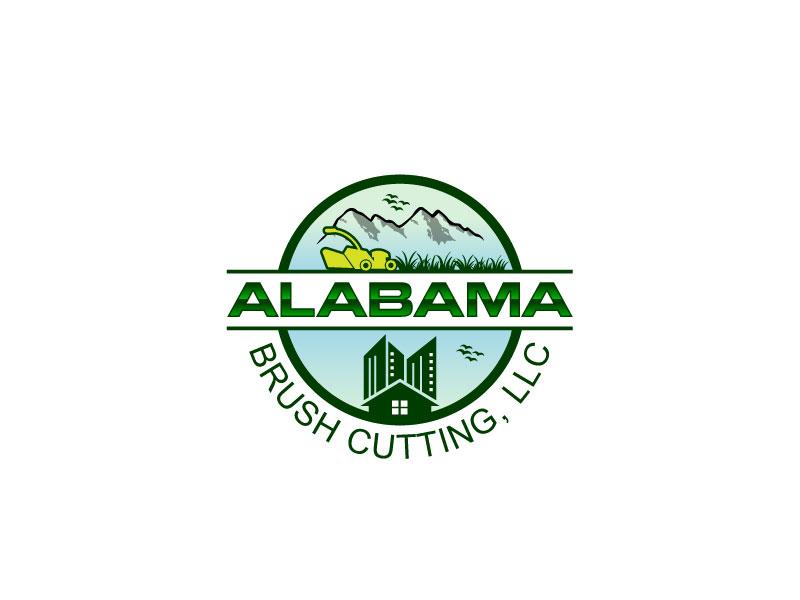 Alabama Brush Cutting, LLC logo design by Webphixo