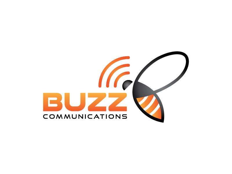 Buzz Communications logo design by lokiasan
