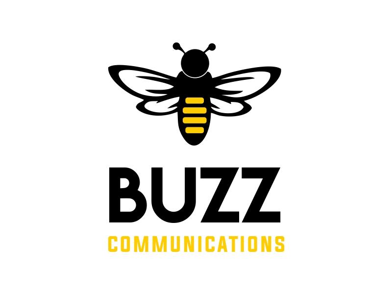 Buzz Communications logo design by JessicaLopes