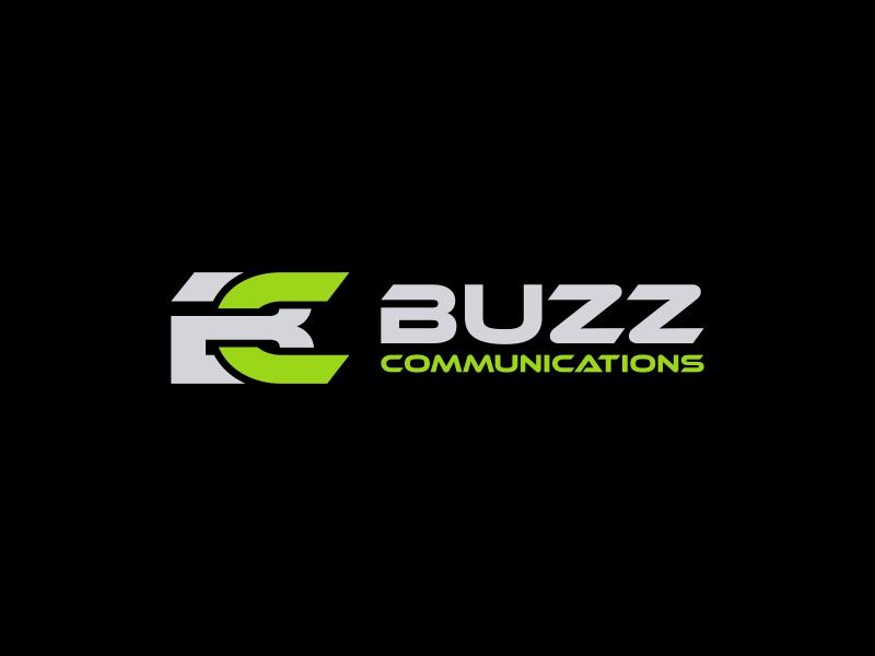 Buzz Communications logo design by asani