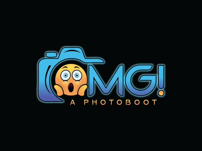 OMG! A Photobooth optional; .com logo design by REDCROW
