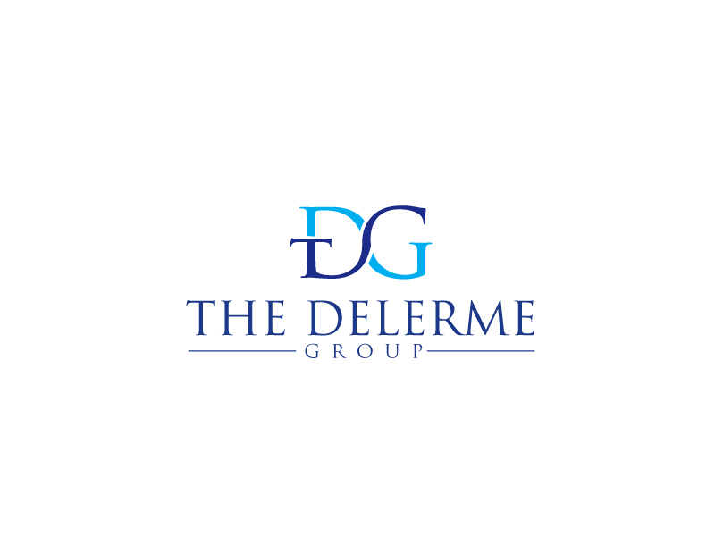 The Delerme Group logo design by maze