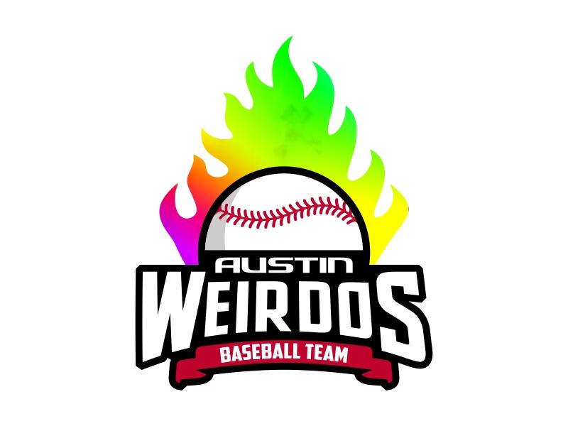 Austin Weirdos Baseball Team logo design by rizuki