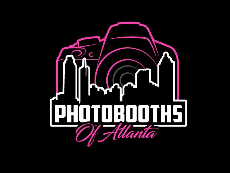 Photobooths Of Atlanta logo design by aRBy