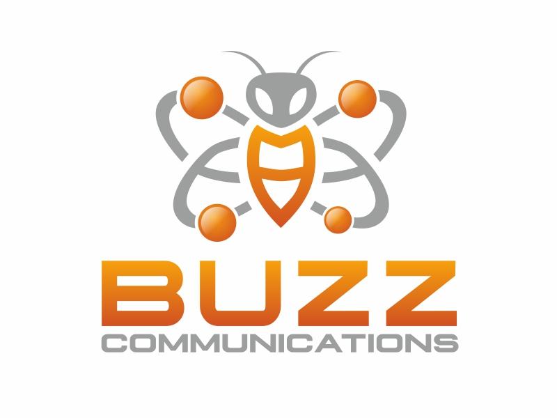 Buzz Communications logo design by serprimero