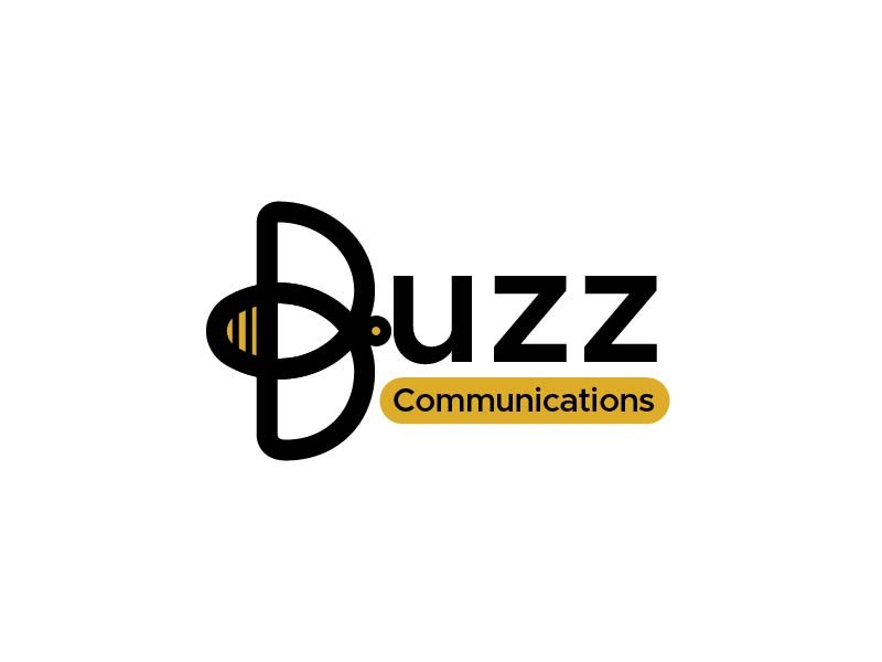 Buzz Communications logo design by usef44