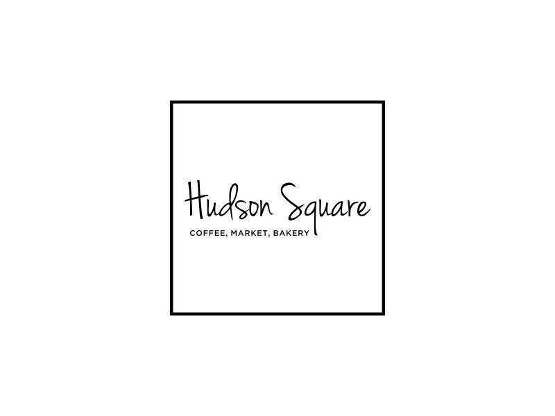 Hudson Square logo design by oke2angconcept