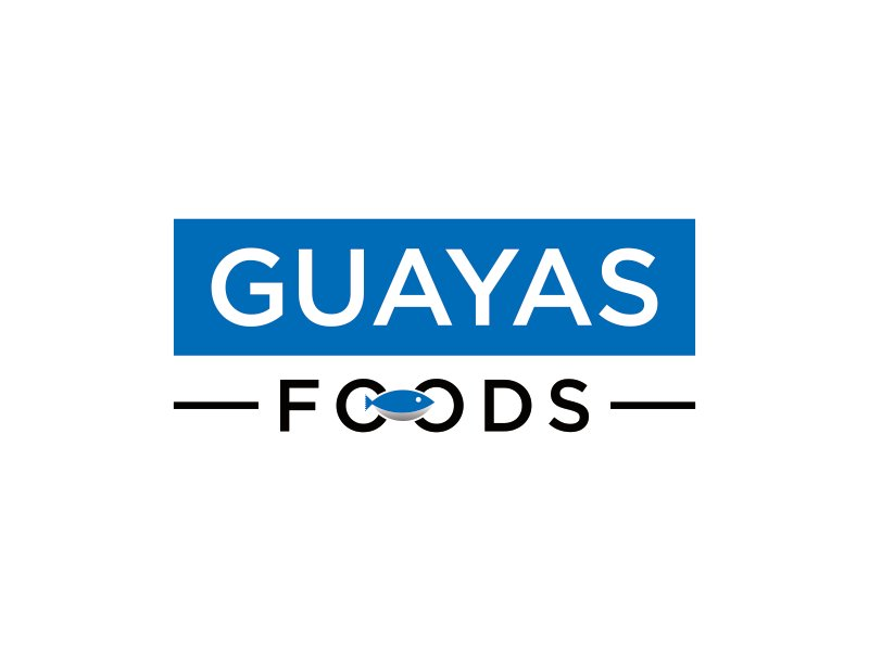 GUAYAS FOODS logo design by bomie