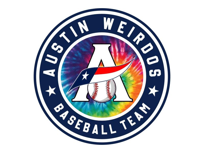 Austin Weirdos Baseball Team logo design by Cekot_Art