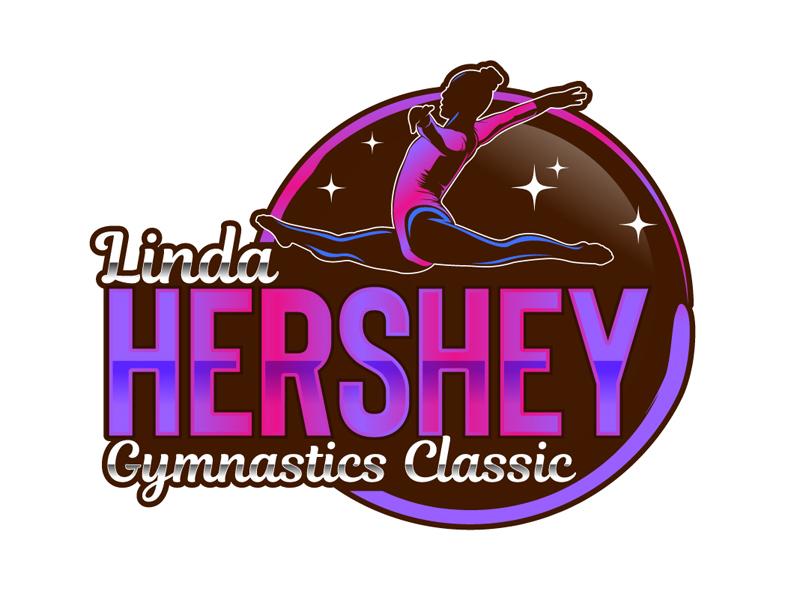 Linda Hershey Gymnastics Classic Logo Design