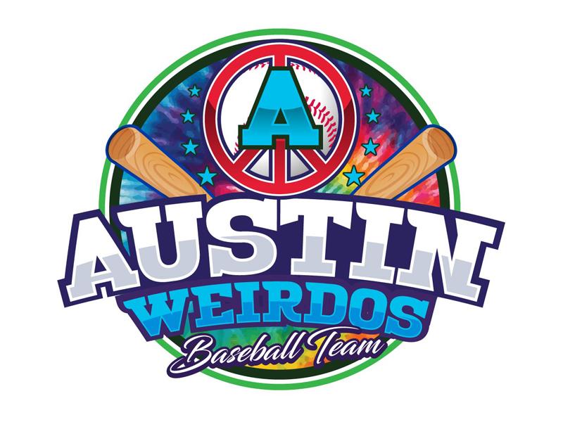 Austin Weirdos Baseball Team logo design by DreamLogoDesign