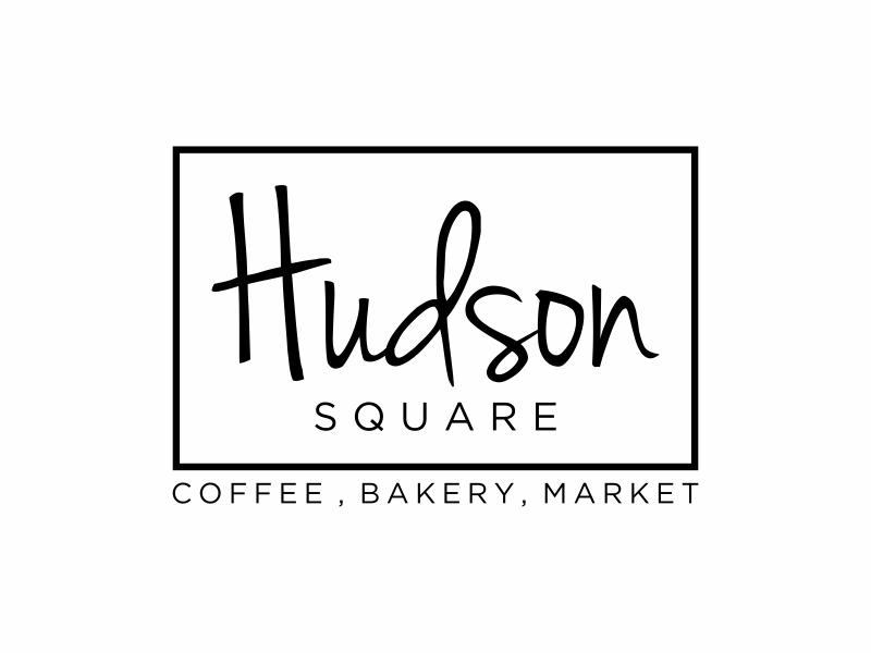 Hudson Square logo design by puthreeone