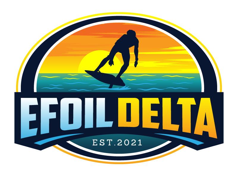 Efoil Delta logo design by jaize