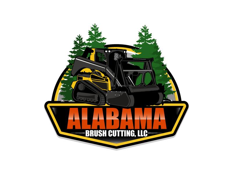 Alabama Brush Cutting, LLC logo design by ElonStark