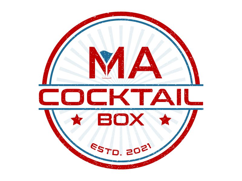 Ma Cocktail Box logo design by DreamCather