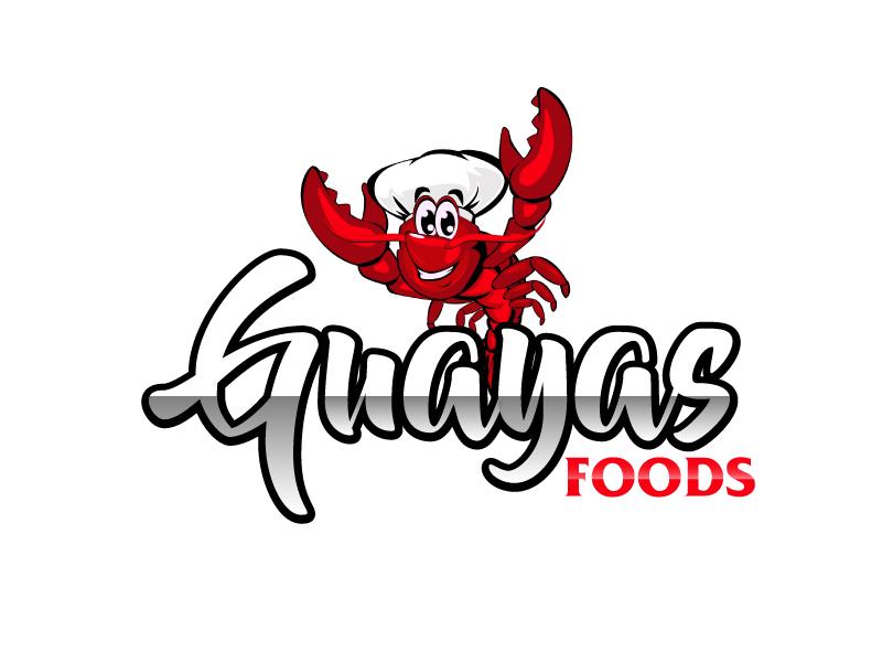 GUAYAS FOODS logo design by ElonStark