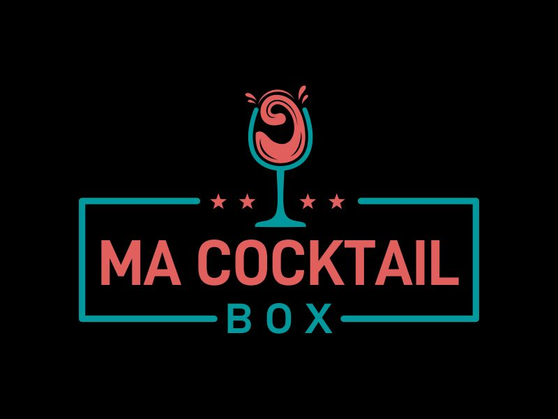 Ma Cocktail Box logo design by AnandArts