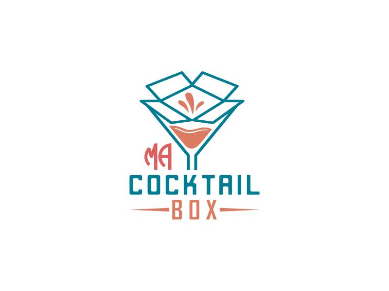 Ma Cocktail Box logo design by alfais