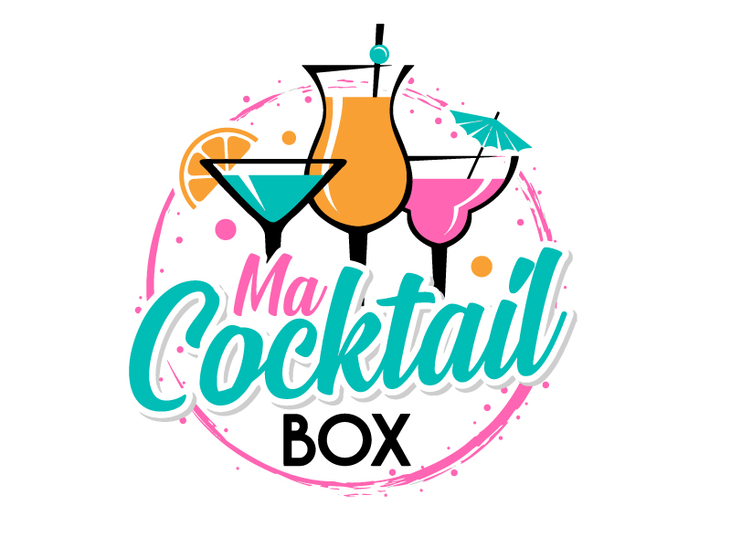 Ma Cocktail Box logo design by jaize