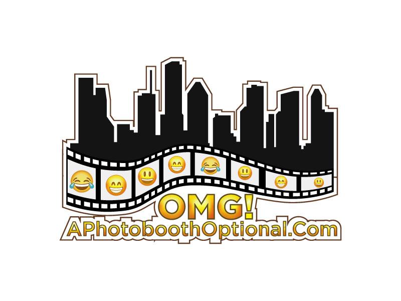OMG! A Photobooth optional; .com logo design by Htz_Creative