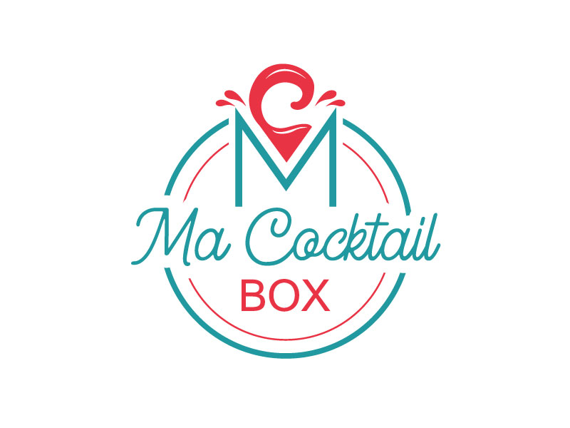 Ma Cocktail Box logo design by REDCROW
