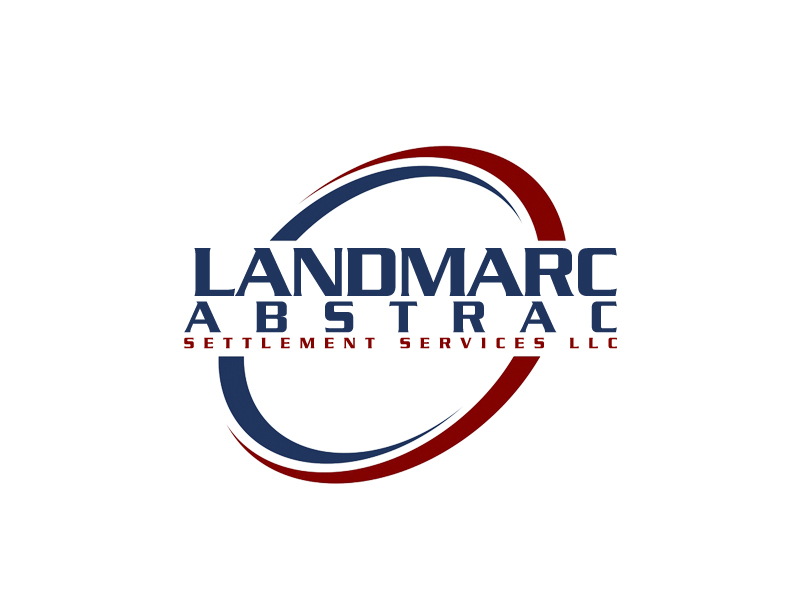 Landmarc Abstract and Settlement Services LLC logo design by senja03