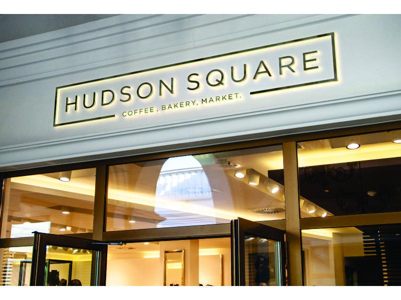 Hudson Square logo design by fasto99
