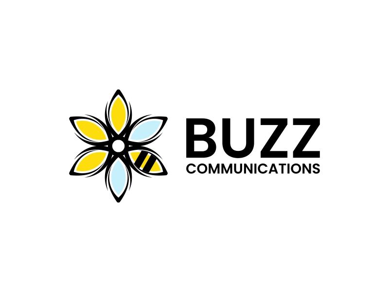 Buzz Communications logo design by yunda