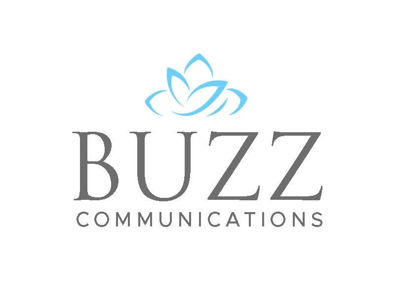 Buzz Communications logo design by kunejo