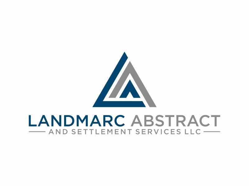 Landmarc Abstract and Settlement Services LLC logo design by puthreeone