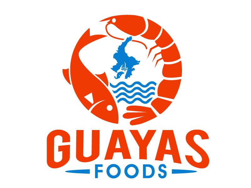 GUAYAS FOODS logo design by PMG
