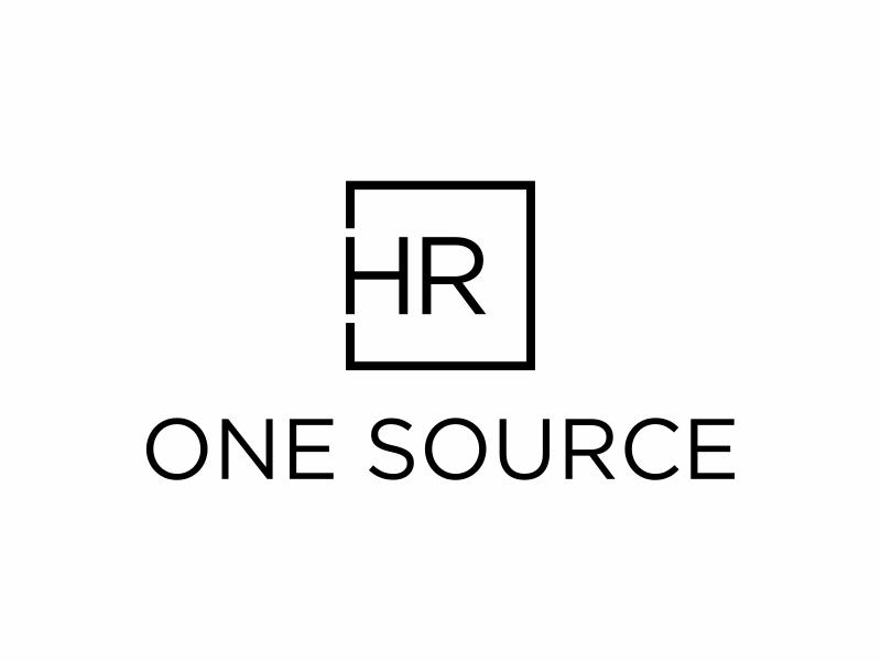HR One Source logo design by puthreeone