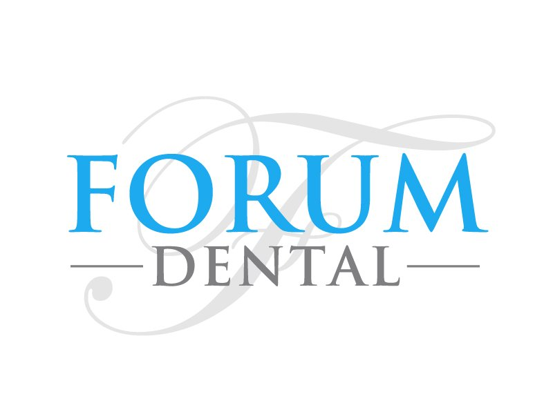 Forum Dental Logo Design